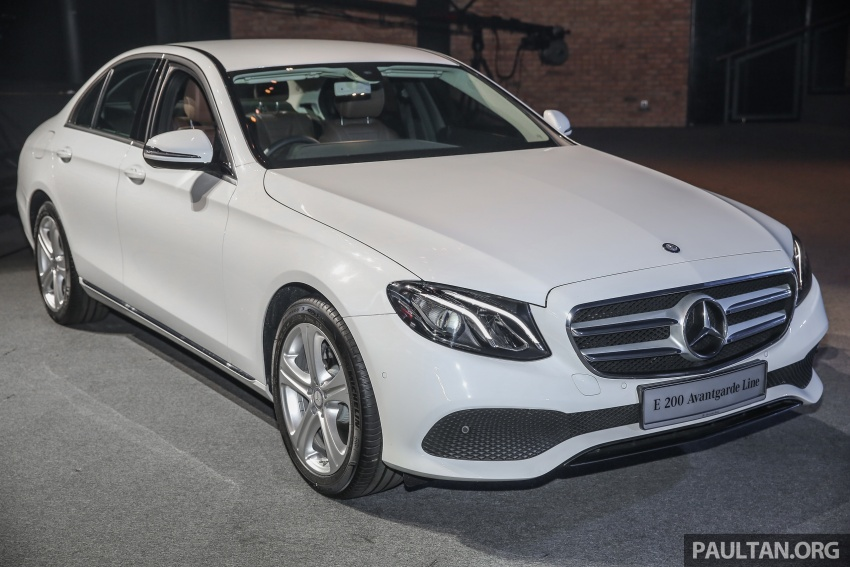 W213 Mercedes-Benz E-Class CKD launched in Malaysia – from RM349k, up to RM47k less than CBU Image #648899