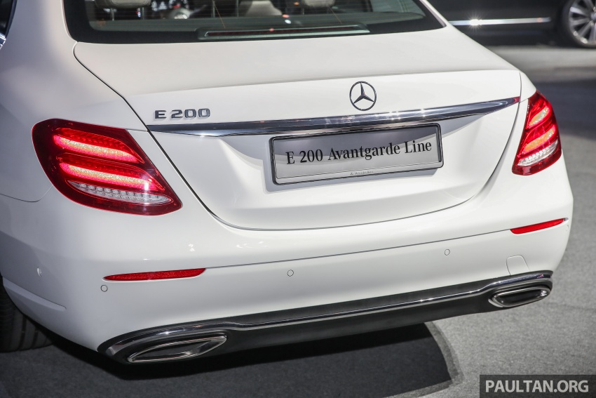 W213 Mercedes-Benz E-Class CKD launched in Malaysia – from RM349k, up to RM47k less than CBU Image #648926