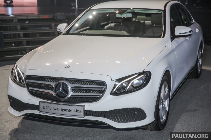 W213 Mercedes-Benz E-Class CKD launched in Malaysia – from RM349k, up to RM47k less than CBU Image #648901