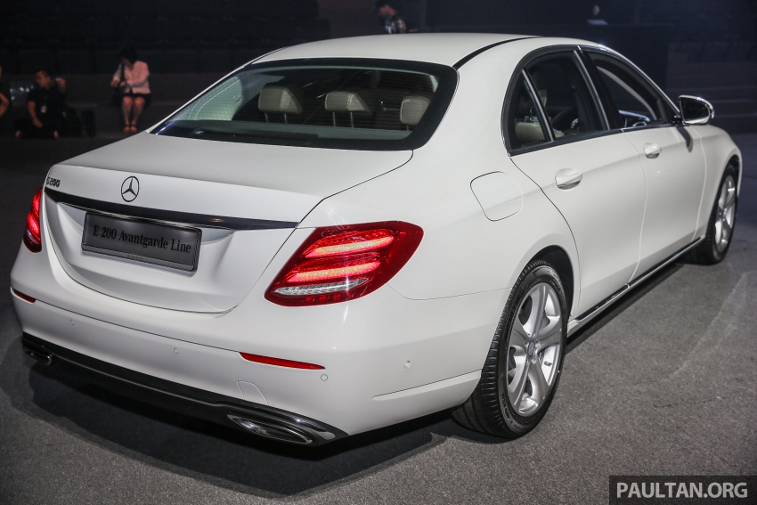 W213 Mercedes-Benz E-Class CKD launched in Malaysia – from RM349k, up to RM47k less than CBU Image #648903