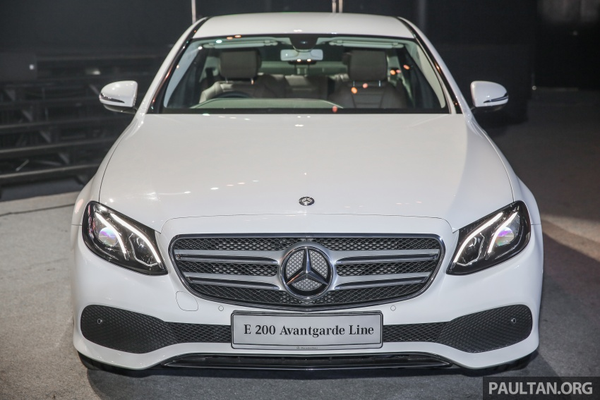 W213 Mercedes-Benz E-Class CKD launched in Malaysia – from RM349k, up to RM47k less than CBU Image #648907