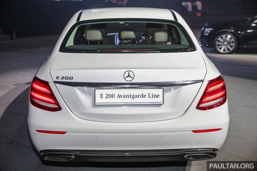 W213 Mercedes-Benz E-Class CKD launched in Malaysia – from RM349k, up to RM47k less than CBU Image #648909