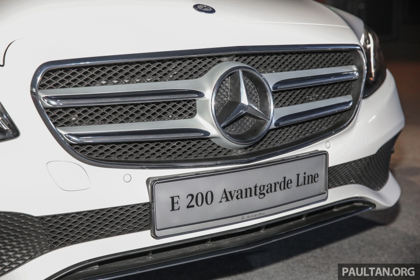 W213 Mercedes-Benz E-Class CKD launched in Malaysia – from RM349k, up to RM47k less than CBU Image #648915