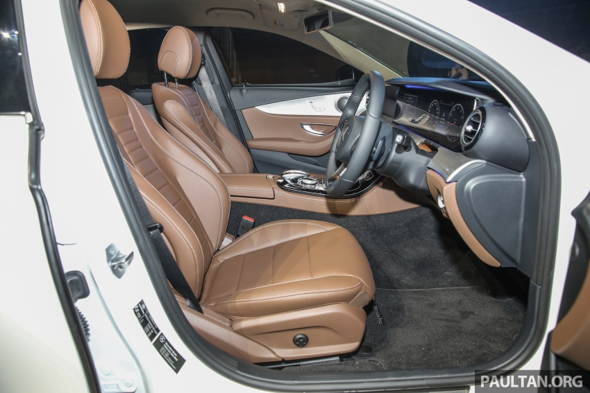 W213 Mercedes-Benz E-Class CKD launched in Malaysia – from RM349k, up to RM47k less than CBU Image #648945