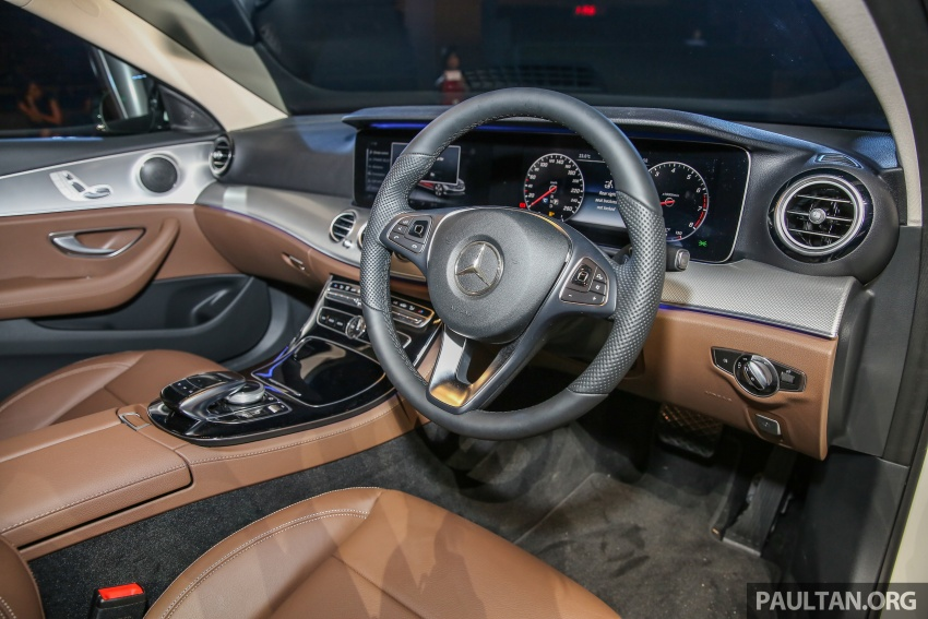 W213 Mercedes-Benz E-Class CKD launched in Malaysia – from RM349k, up to RM47k less than CBU Image #648936