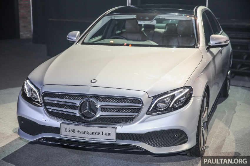 W213 Mercedes-Benz E-Class CKD launched in Malaysia – from RM349k, up to RM47k less than CBU Image #648950