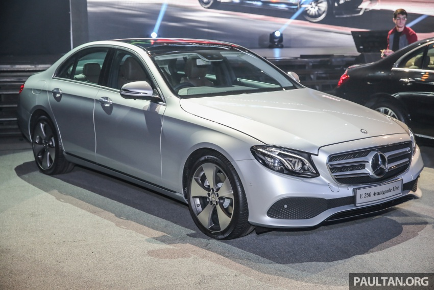 W213 Mercedes-Benz E-Class CKD launched in Malaysia – from RM349k, up to RM47k less than CBU Image #648951