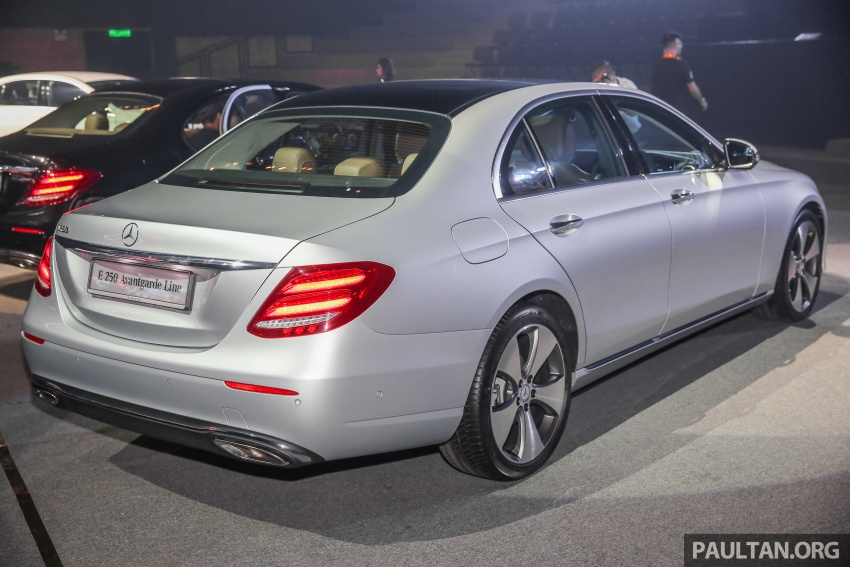 W213 Mercedes-Benz E-Class CKD launched in Malaysia – from RM349k, up to RM47k less than CBU Image #648952