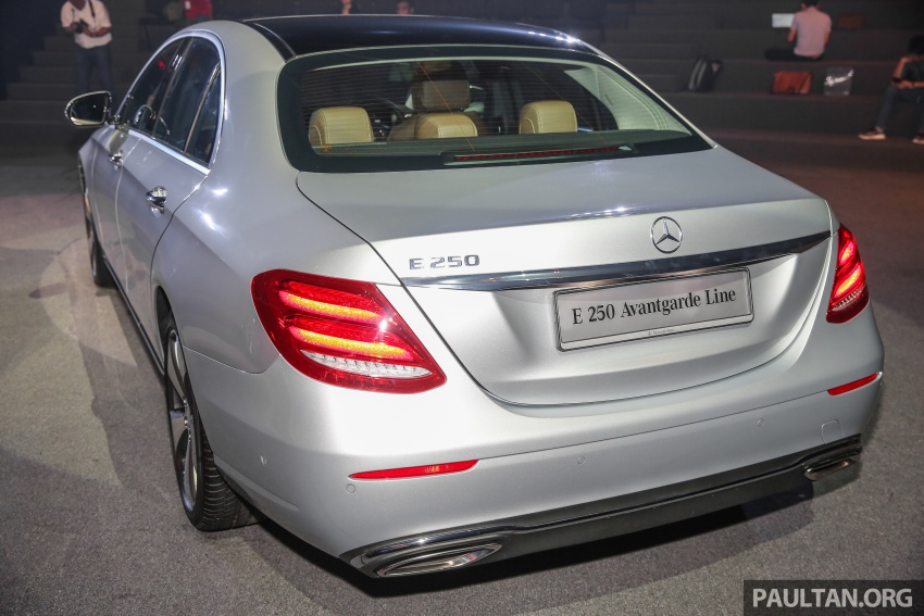 W213 Mercedes-Benz E-Class CKD launched in Malaysia – from RM349k, up to RM47k less than CBU Image #648953