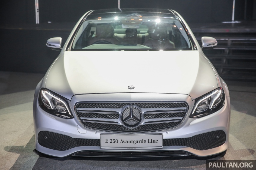 W213 Mercedes-Benz E-Class CKD launched in Malaysia – from RM349k, up to RM47k less than CBU Image #648954