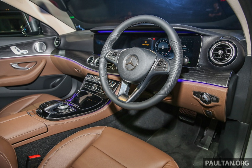 W213 Mercedes-Benz E-Class CKD launched in Malaysia – from RM349k, up to RM47k less than CBU Image #648970