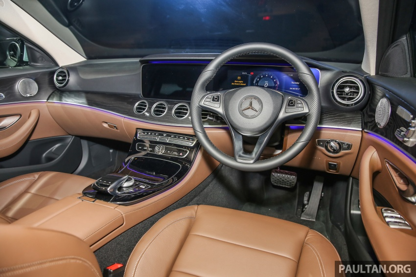 W213 Mercedes-Benz E-Class CKD launched in Malaysia – from RM349k, up to RM47k less than CBU Image #648971