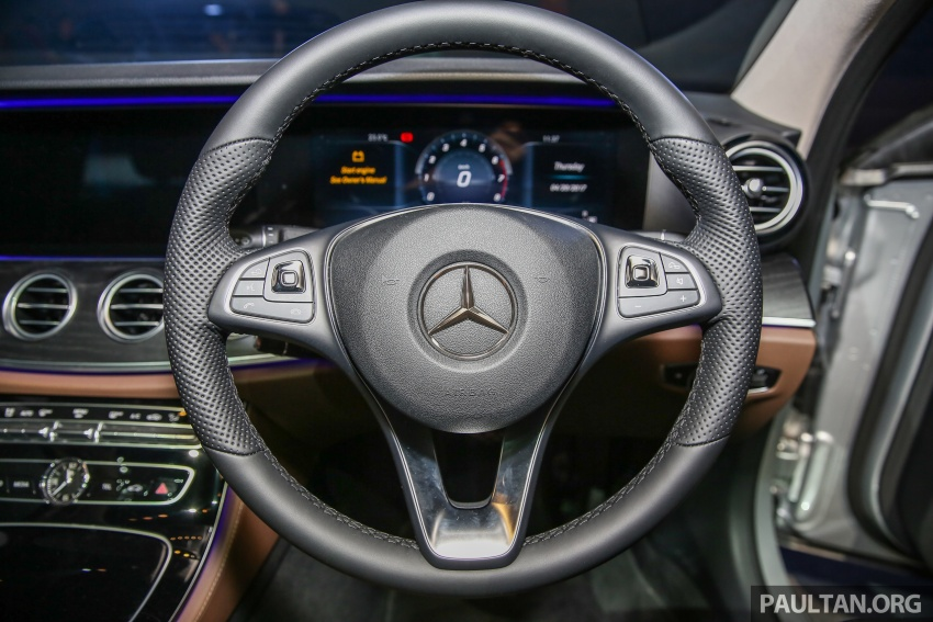 W213 Mercedes-Benz E-Class CKD launched in Malaysia – from RM349k, up to RM47k less than CBU Image #648973