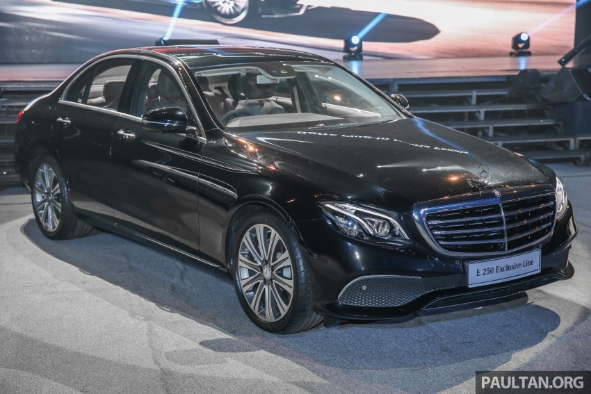W213 Mercedes-Benz E-Class CKD launched in Malaysia – from RM349k, up to RM47k less than CBU Image #648991