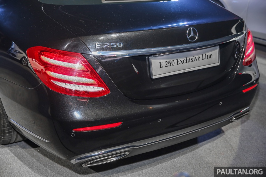 W213 Mercedes-Benz E-Class CKD launched in Malaysia – from RM349k, up to RM47k less than CBU Image #649006