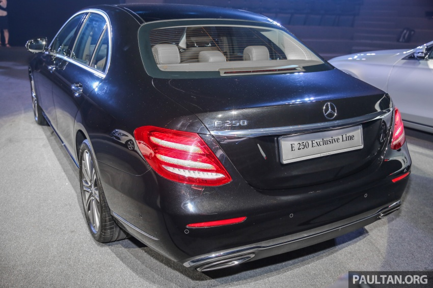 W213 Mercedes-Benz E-Class CKD launched in Malaysia – from RM349k, up to RM47k less than CBU Image #648994