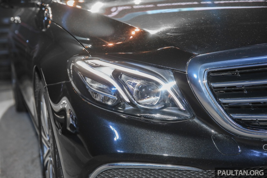W213 Mercedes-Benz E-Class CKD launched in Malaysia – from RM349k, up to RM47k less than CBU Image #648998