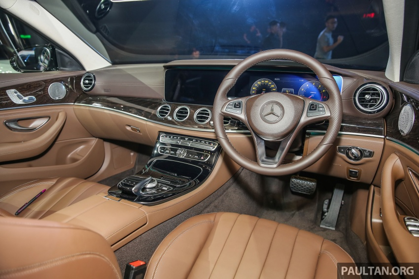 W213 Mercedes-Benz E-Class CKD launched in Malaysia – from RM349k, up to RM47k less than CBU Image #649010