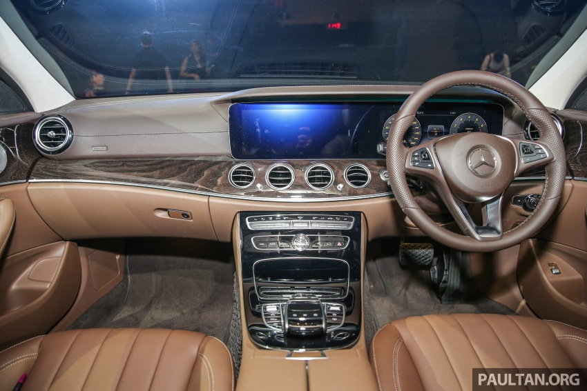 W213 Mercedes-Benz E-Class CKD launched in Malaysia – from RM349k, up to RM47k less than CBU Image #649012