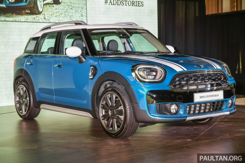 F60 MINI Countryman launched in Malaysia – Cooper, Cooper S variants; priced from RM240k and RM270k Image #645490