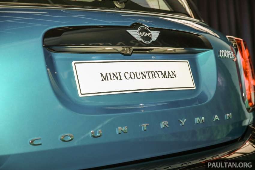 F60 MINI Countryman launched in Malaysia – Cooper, Cooper S variants; priced from RM240k and RM270k Image #645685
