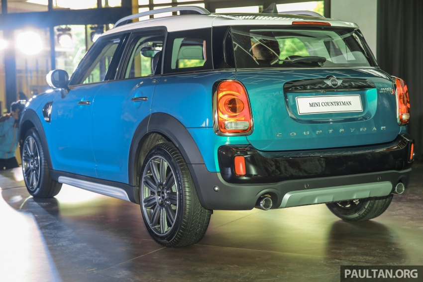 F60 MINI Countryman launched in Malaysia – Cooper, Cooper S variants; priced from RM240k and RM270k Image #645659
