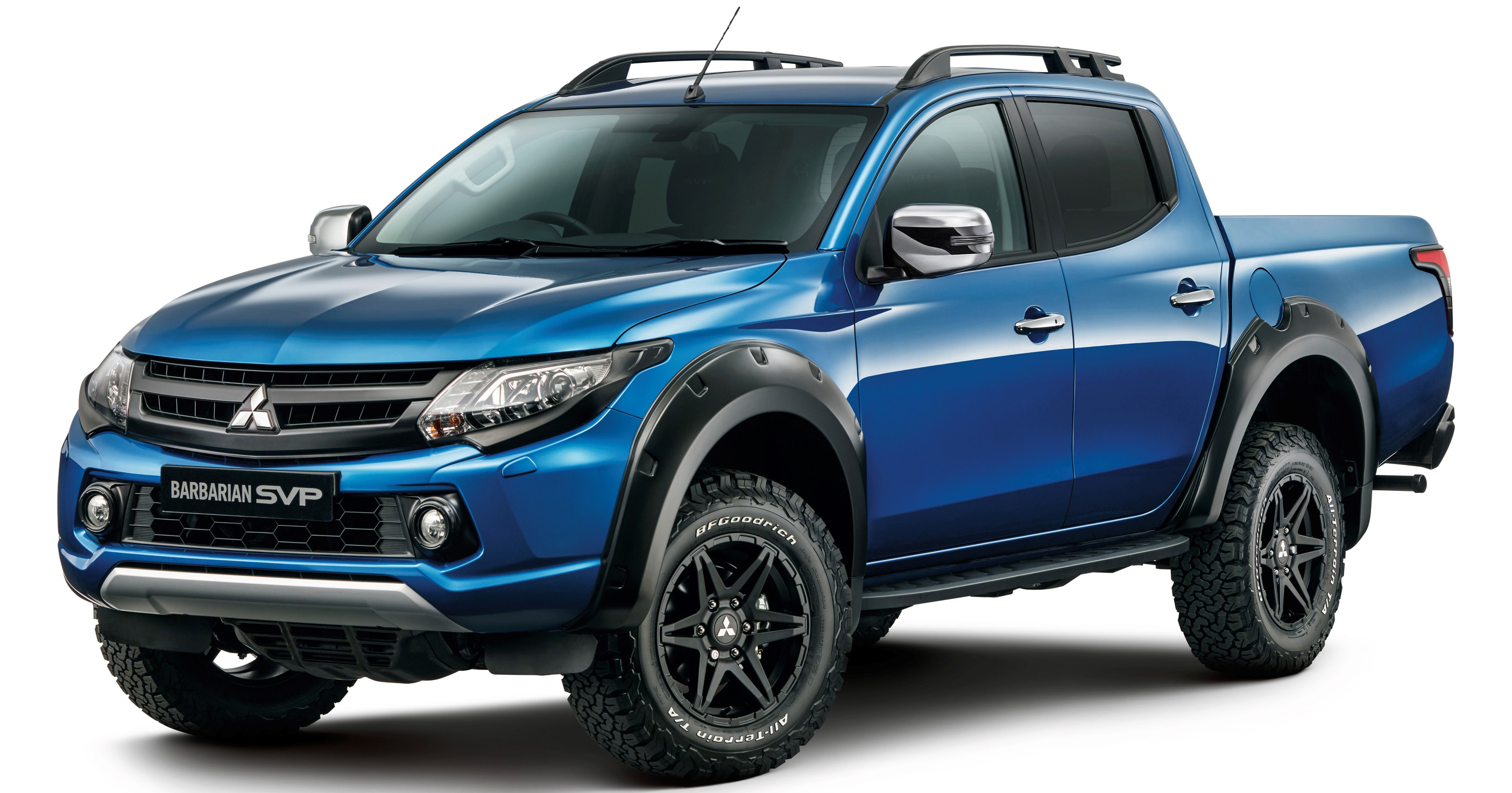 mitsubishi triton barbarian svp limited to 250 units. Black Bedroom Furniture Sets. Home Design Ideas
