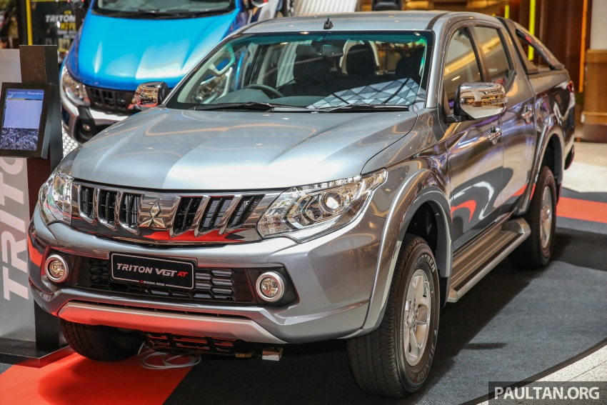 Mitsubishi Triton updated for M'sia – 7 airbags, Active Stability Control standard for Adventure variants Image #640485