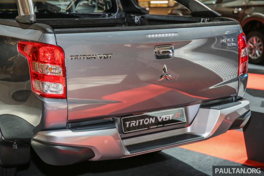 GALERI: Mitsubishi Triton 2017 di Malaysia dipertingkatkan – tujuh beg udara, kawalan kestabilan aktif didatangkan standard untuk varian Adventure Image #640533