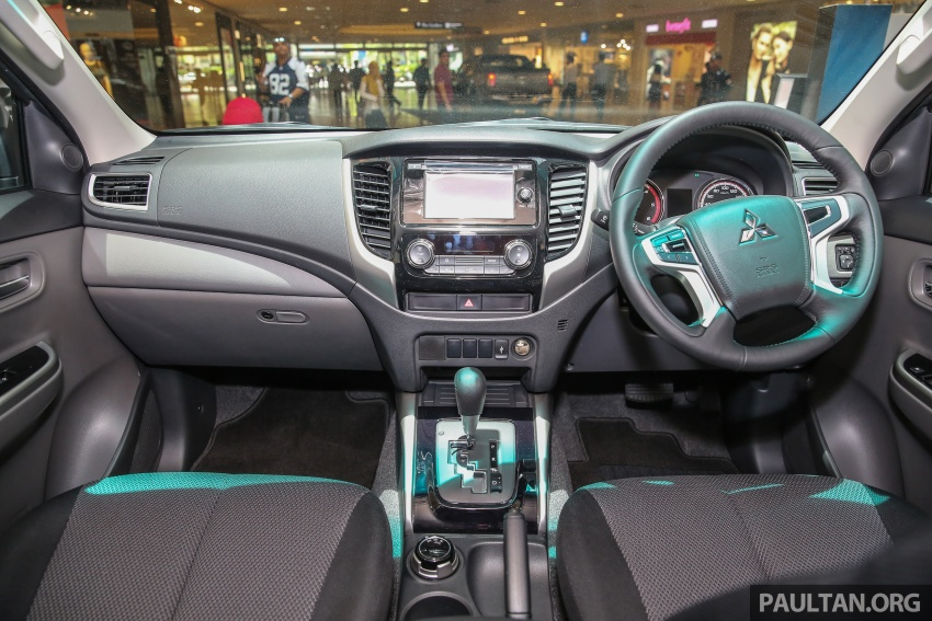 Mitsubishi Triton updated for M'sia – 7 airbags, Active Stability Control standard for Adventure variants Image #640499