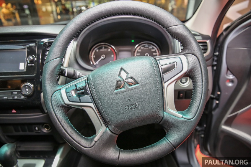 Mitsubishi Triton updated for M'sia – 7 airbags, Active Stability Control standard for Adventure variants Image #640500
