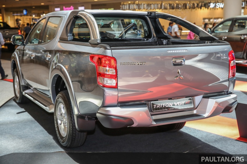 Mitsubishi Triton updated for M'sia – 7 airbags, Active Stability Control standard for Adventure variants Image #640486