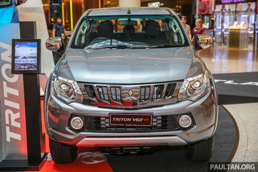 Mitsubishi Triton updated for M'sia – 7 airbags, Active Stability Control standard for Adventure variants Image #640487