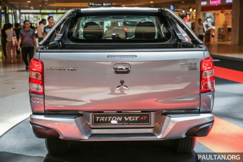 Mitsubishi Triton updated for M'sia – 7 airbags, Active Stability Control standard for Adventure variants Image #640488
