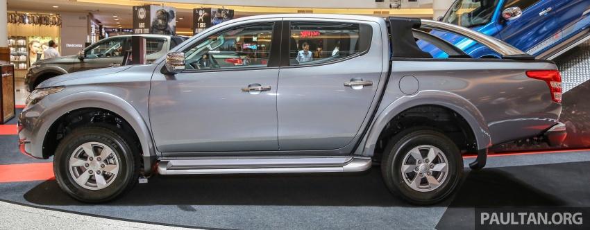 GALERI: Mitsubishi Triton 2017 di Malaysia dipertingkatkan – tujuh beg udara, kawalan kestabilan aktif didatangkan standard untuk varian Adventure Image #640524