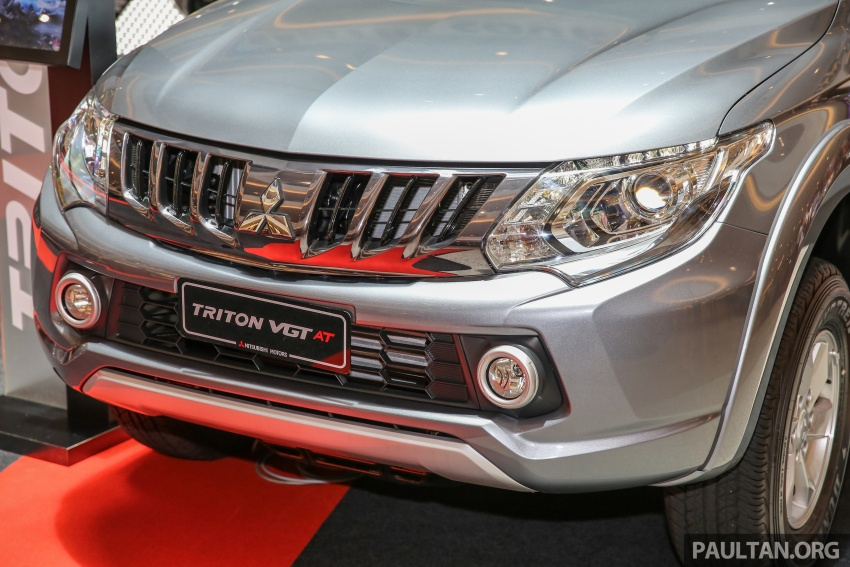 Mitsubishi Triton updated for M'sia – 7 airbags, Active Stability Control standard for Adventure variants Image #640491