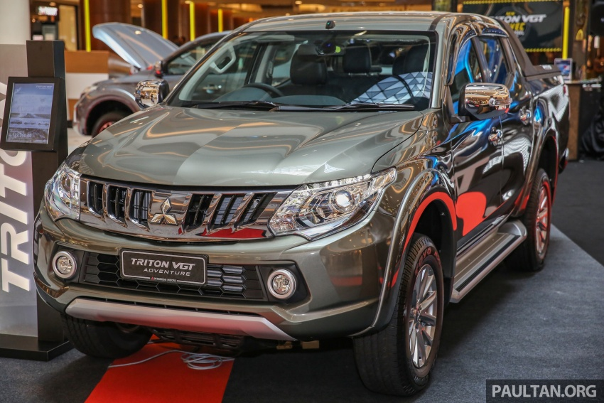 Mitsubishi Triton updated for M'sia – 7 airbags, Active Stability Control standard for Adventure variants Image #640434