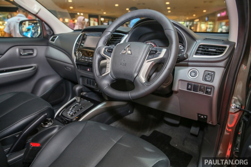 Mitsubishi Triton updated for M'sia – 7 airbags, Active Stability Control standard for Adventure variants Image #640445