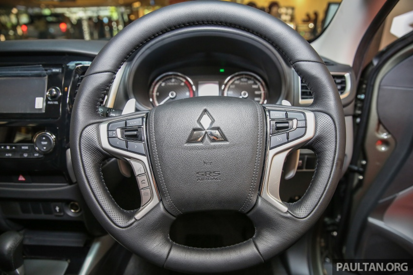 Mitsubishi Triton updated for M'sia – 7 airbags, Active Stability Control standard for Adventure variants Image #640447