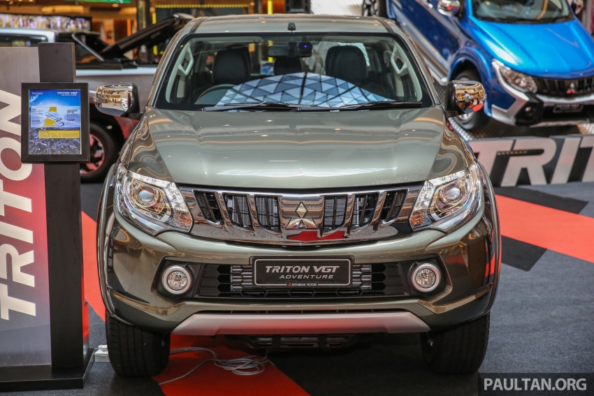 Mitsubishi Triton updated for M'sia – 7 airbags, Active Stability Control standard for Adventure variants Image #640436