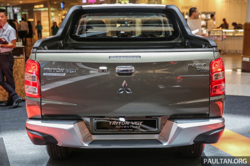 Mitsubishi Triton updated for M'sia – 7 airbags, Active Stability Control standard for Adventure variants Image #640437