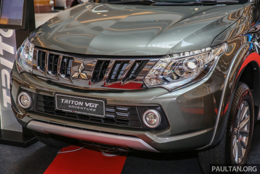 Mitsubishi Triton updated for M'sia – 7 airbags, Active Stability Control standard for Adventure variants Image #640438