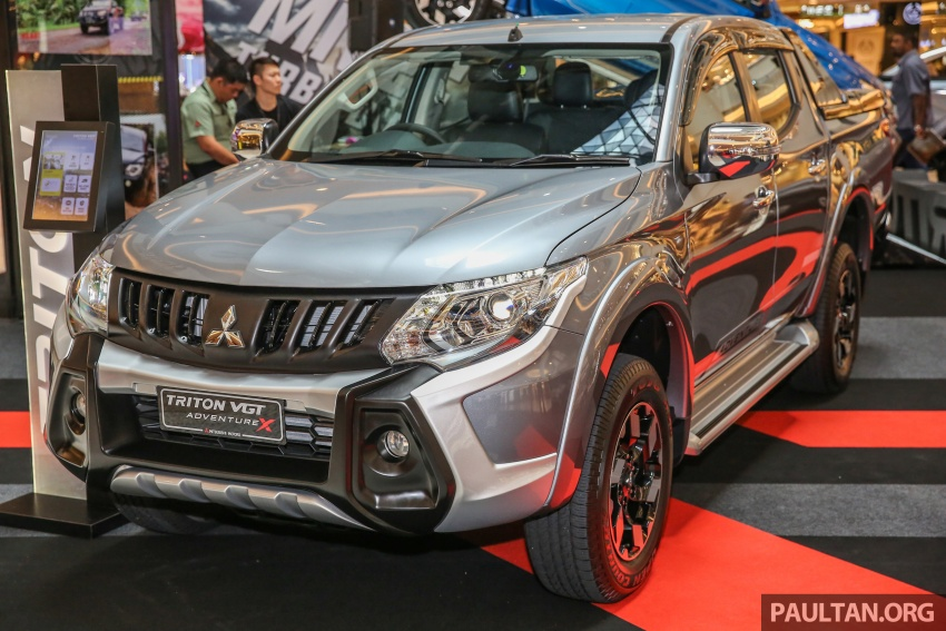 Mitsubishi Triton updated for M'sia – 7 airbags, Active Stability Control standard for Adventure variants Image #640459