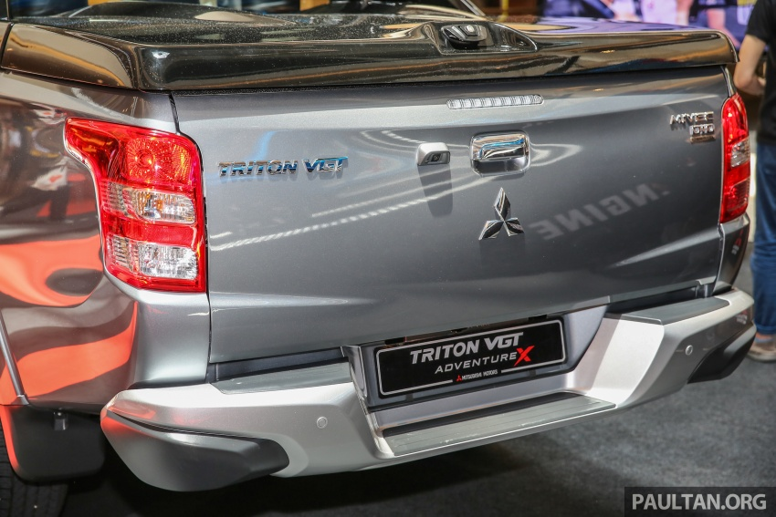 Mitsubishi Triton updated for M'sia – 7 airbags, Active Stability Control standard for Adventure variants Image #640468