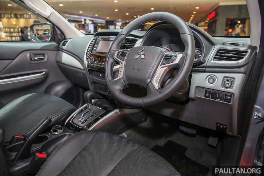Mitsubishi Triton updated for M'sia – 7 airbags, Active Stability Control standard for Adventure variants Image #640470