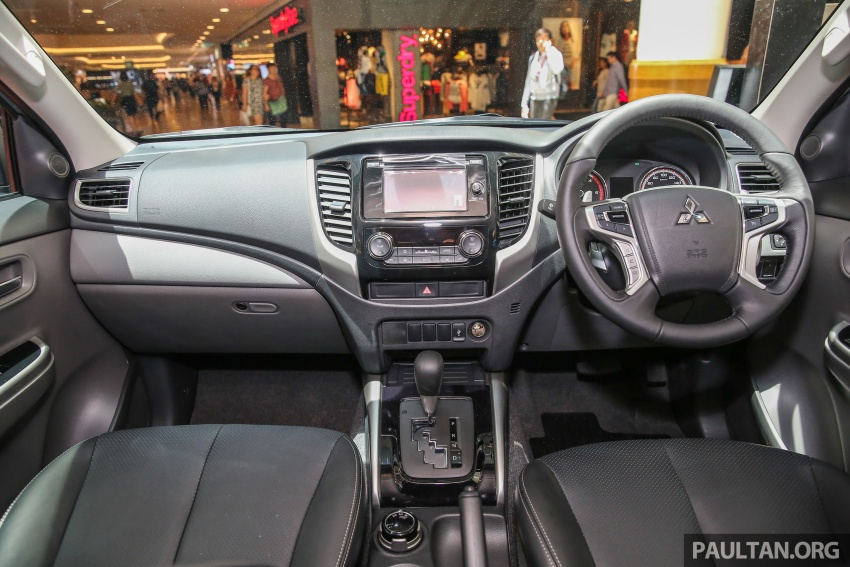 Mitsubishi Triton updated for M'sia – 7 airbags, Active Stability Control standard for Adventure variants Image #640471