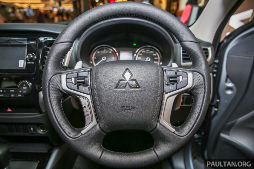 Mitsubishi Triton updated for M'sia – 7 airbags, Active Stability Control standard for Adventure variants Image #640472