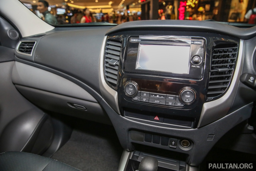 Mitsubishi Triton updated for M'sia – 7 airbags, Active Stability Control standard for Adventure variants Image #640474