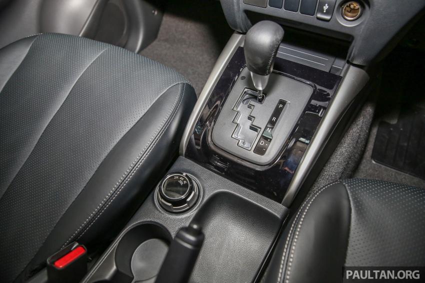 GALERI: Mitsubishi Triton 2017 di Malaysia dipertingkatkan – tujuh beg udara, kawalan kestabilan aktif didatangkan standard untuk varian Adventure Image #640602