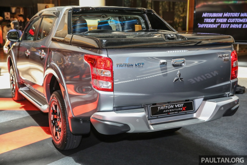 Mitsubishi Triton updated for M'sia – 7 airbags, Active Stability Control standard for Adventure variants Image #640460